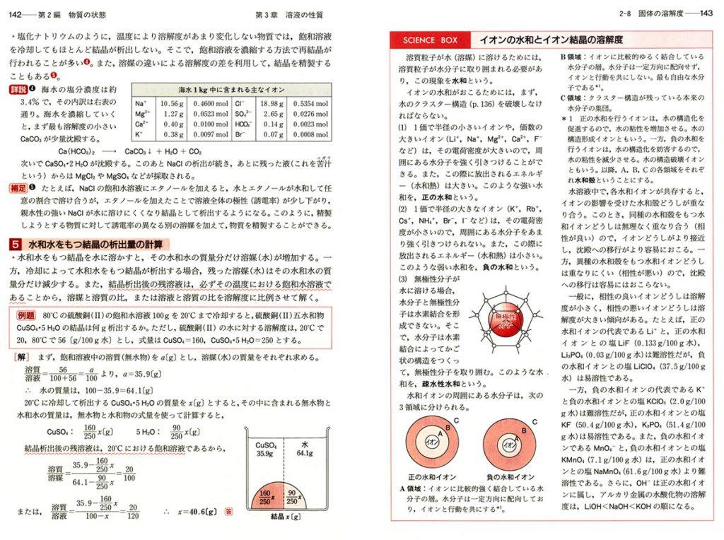 理系大学受験 化学の新演習のサンプル画像
